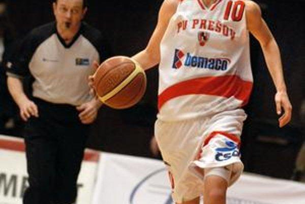 Belgická basketbalistka Romina Ciapinová zostala hráčkou Prešova.