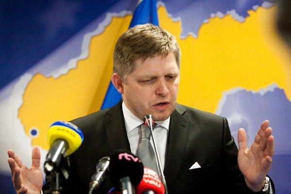 Premiér po rokovaní v Bruseli obvinil Ukrajinu z plynovej krízy v roku 2009.