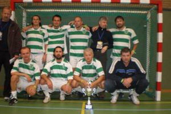 Futsalisti v Holandsku. Reprezentanti Prešovského kraja skončili piati.
