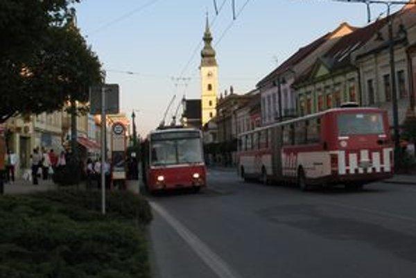 Trolejbusy patria k prešovskému mestskému koloritu.