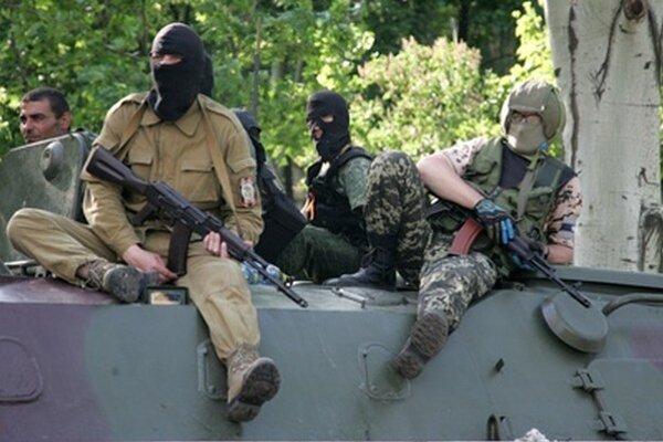 Separatisti na Ukrajine.