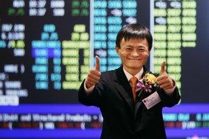 Zakladateľ firmy Alibaba Jack Ma.