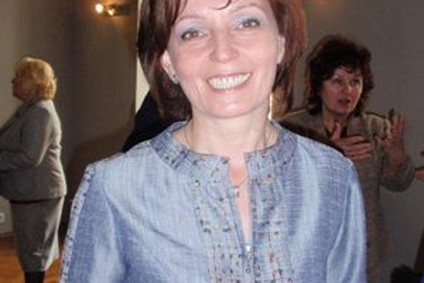 Emília Antolíková. Riaditeľka Hornozemplínskej knižnice vo Vranove nad Topľou.