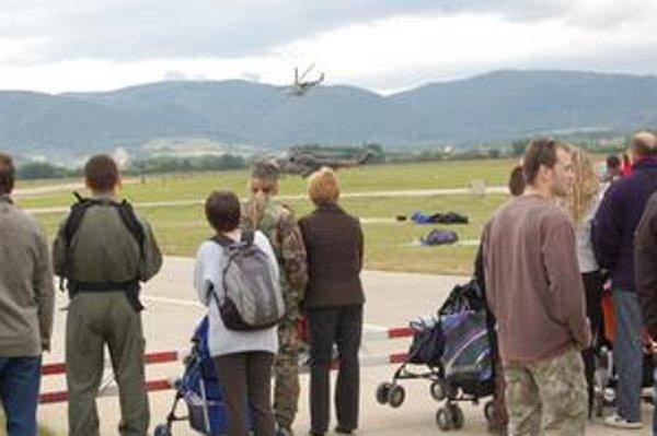 Vydarené podujatie. Vojaci ho organizujú už po niekoľkýkrát, včera prišlo najviac návštevníkov.