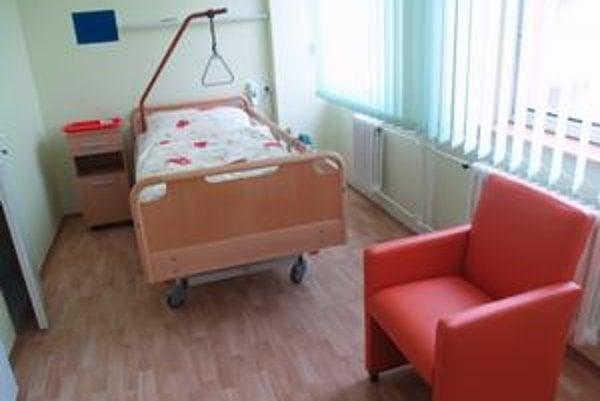 Dom ošetrovateľskej starostlivosti. Kdispozícii je 15 lôžok.