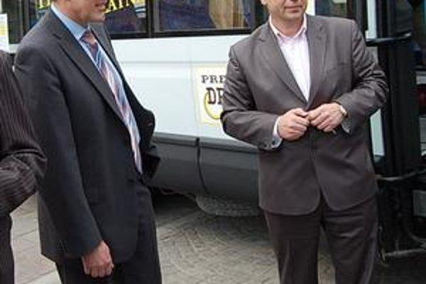 Nezmieriteľní. Jozef Kislík a Pavel Hagyari.
