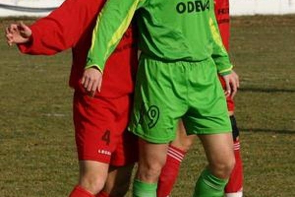 Pavol Šuhaj. Prvý gól Odevy v novej sezóne dal osvedčený kanonier.