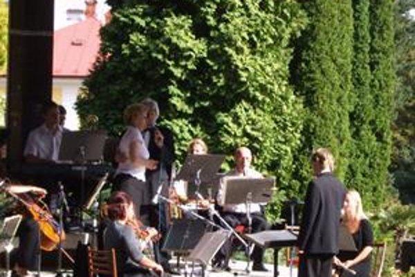 Promenádne koncerty. Boli príjemným spestrením leta v Bardejovských Kúpeľoch.