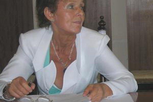 Poslankyňa Mária Kusendová.