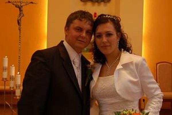 Veronika sa v sobotu vydala za svojho miláčika Ondreja.