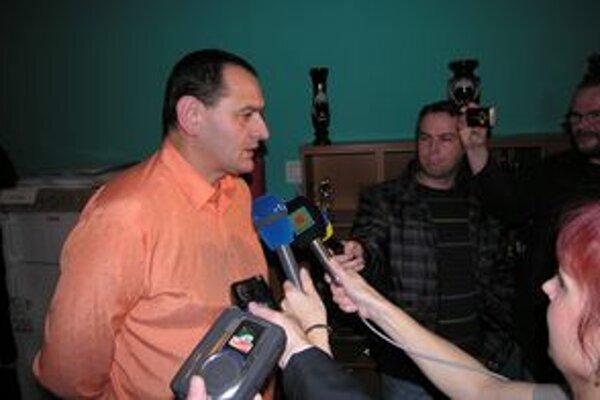 Peter Chudík sa spovedá novinárom ako trojnásobný prešovský župan.