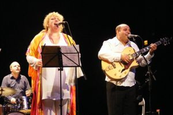 Ida Kelarová na vydarenom koncerte v Prešove.