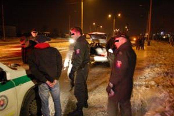 Zadržaní zlodeji. Košičanov súd v minulosti už viackrát odsúdil pre majetkovú aj násilnú trestnú činnosť
