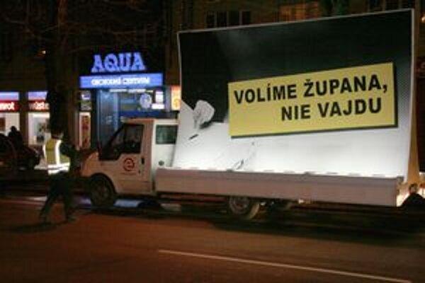 Policajný zásah v Prešove sa udial v čase volebnej kampane.