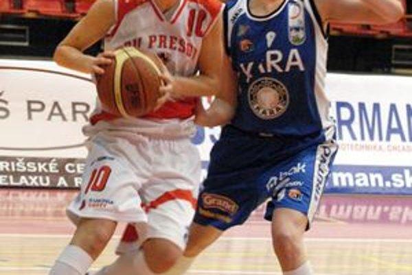 Romina Ciappinová bola s pätnástimi bodmi druhou najlepšou strelkyňou Prešova.