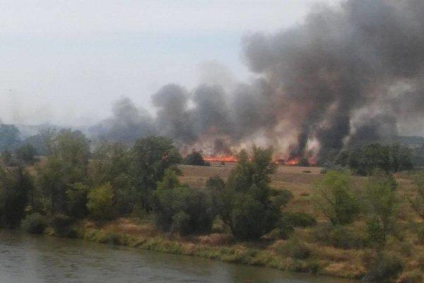 Požiar v Šulekove.