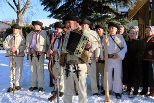 Záver festivalu patril koncertu folklórnej skupiny Hájiček z Chrenovca-Brusna.
