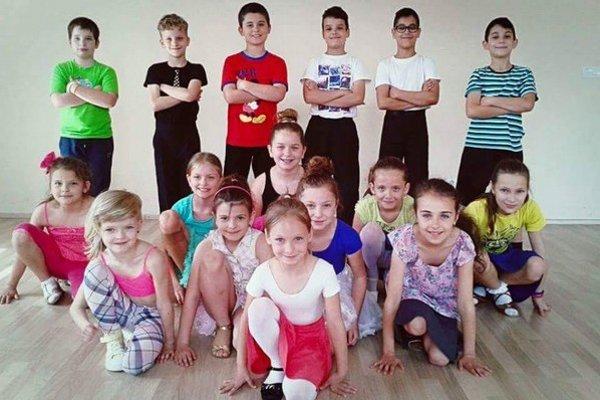 Mladé talenty. Tanečnú školu Jána Gregu navštevuje viac ako 60 deti.