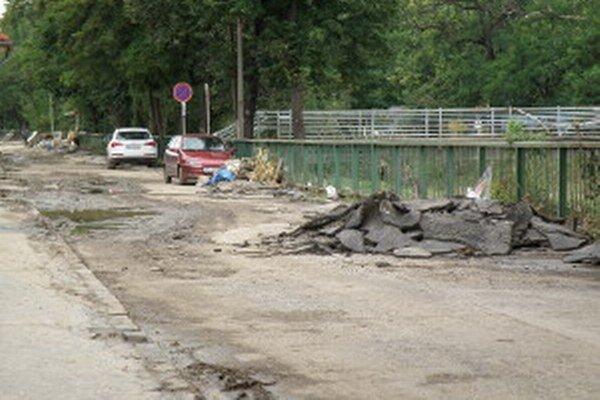 Povodne v roku 2010 spustošili viacero hornonitrianskych miest a obcí.