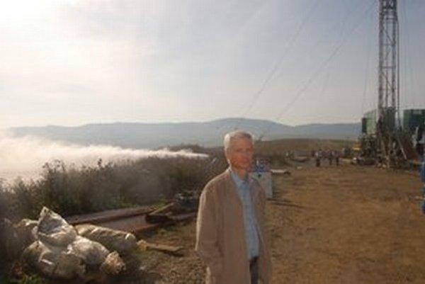 Geotermálny vrt v Lipanoch.