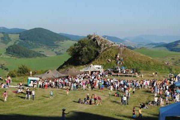 Kamenický hrad v posledných rokoch ožil rôznymi aktivitami.