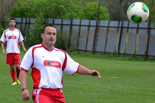 Marek Andraščík. Nebol spokojný s tým, čo Sabinov ukázal naposledy proti Snine.