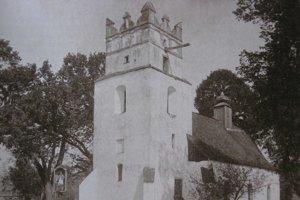 Kostol sv. Martina. Tak ho zachytil známy historik a fotograf Kornel Divald.