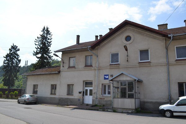Železničná stanica vSabinove. Budovu konečne zrekonštruujú.