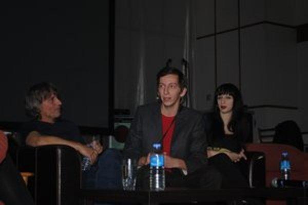 Rodina Staviarskych. Víťo, Richard a Marka Staviarska.