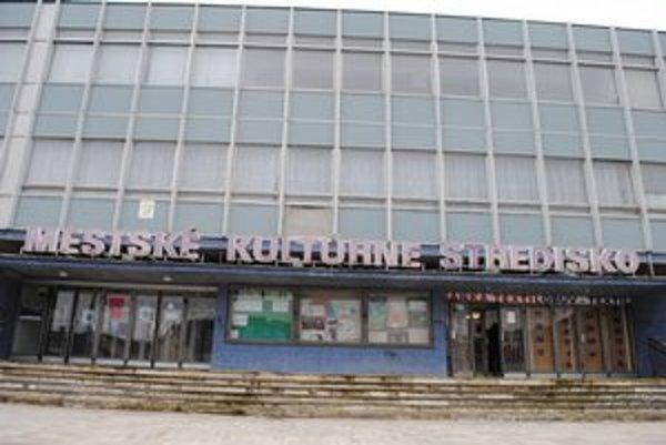 Mestské kultúrne stredisko v Sabinove. V tejto budove je kino už 30 rokov.