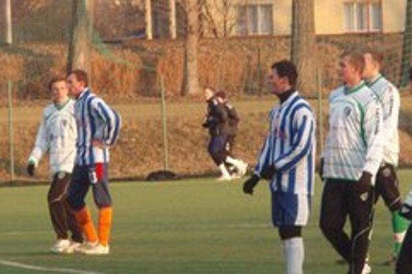 Futbalisti Š. Michalian začali so zimnou drinou v prvej polovici januára.