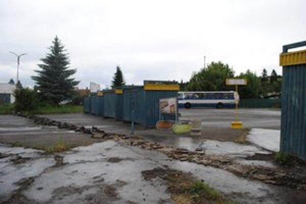Stanica v Sabinove je v dezolátnom stave.
