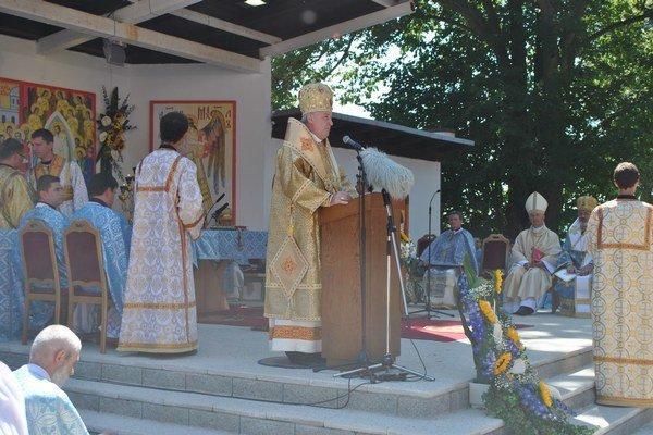 Hlavná liturgia. Arcibiskup Babjak pozval veriacich na Pochod za život.