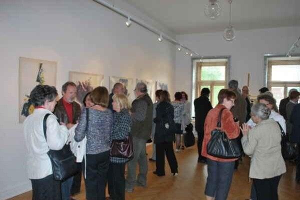 Výstava obrazov Jána Kuchtu. Výstava významného rožňavského maliara potrvá do 25. mája.