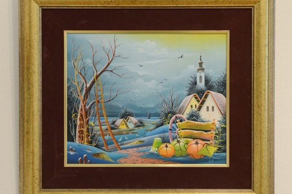 """Na snímke """"Zimná idylka"""" od Pavla Cicku."""