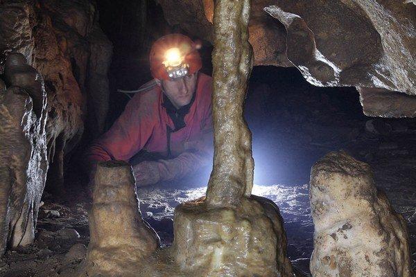 Ardovská jaskyňa. Objavili ju vroku 1927.