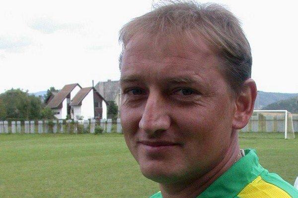 Tréner Július Strelka.