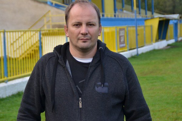 Prezident MFK Rožňava. Michal Domik.