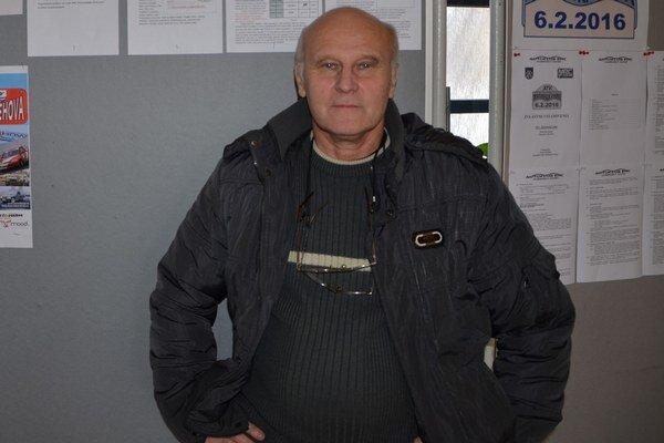 Koordinátor Mini Rally Cupu. František Debnár vDobšinej.