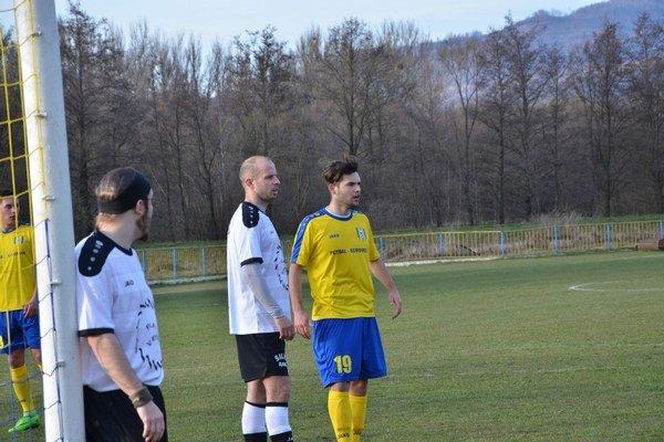 Znova v Rožňave. Filip Kovács (s číslom 19).