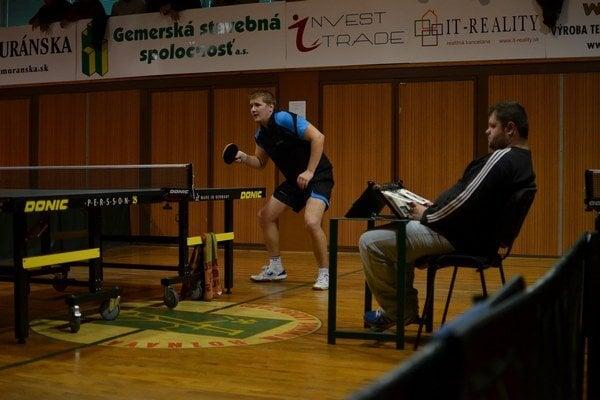 Stolný tenista Martin Paľovčík.