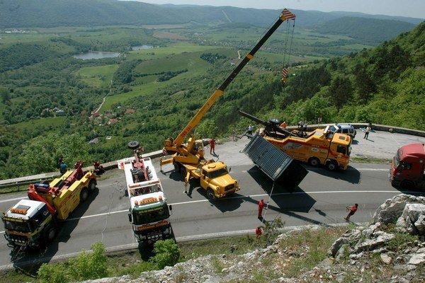 Horský priechod Soroška je miestom častým nehôd.