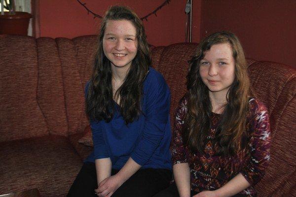 Lucia a Andrea sú veľmi príjemné, sympatické slečny.