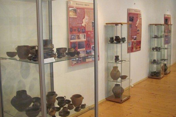Doba bronzová. Archeologická výstava potrvá do konca júna.