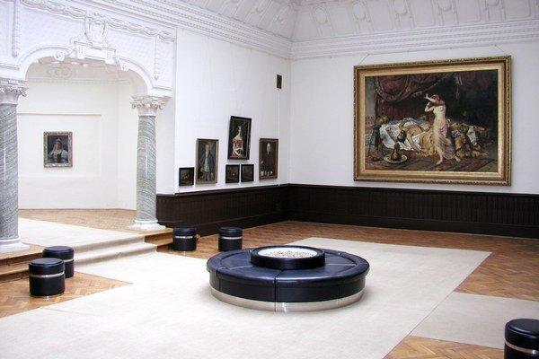 Obrazáreň ponúka pohľad na portrétnu tvorbu 18. a 19. storočia.