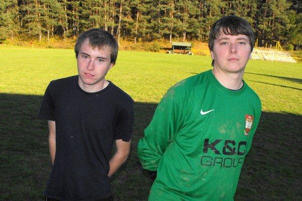 Fabiánovci. Vľavo Roland, vpravo Lukáš.