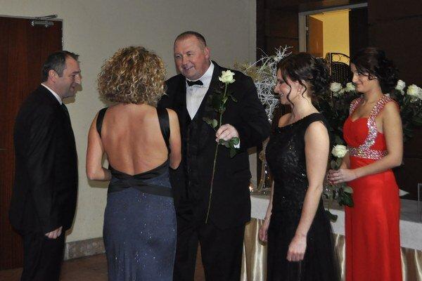 Primátor P. Burdiga. Patril k hostiteľom plesu.