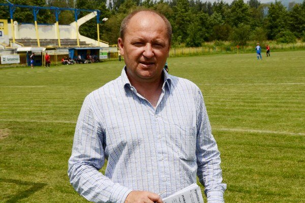 Tréner. Dušan Pollák.