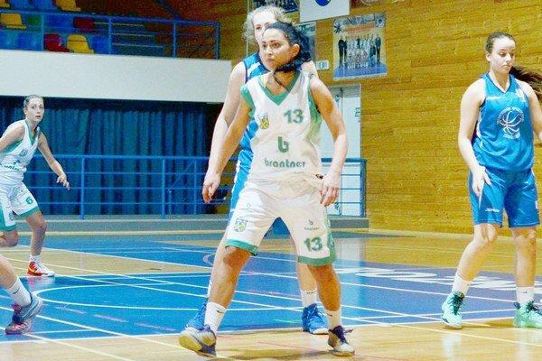 Hrajúca trénerka. Monika Repaszká.