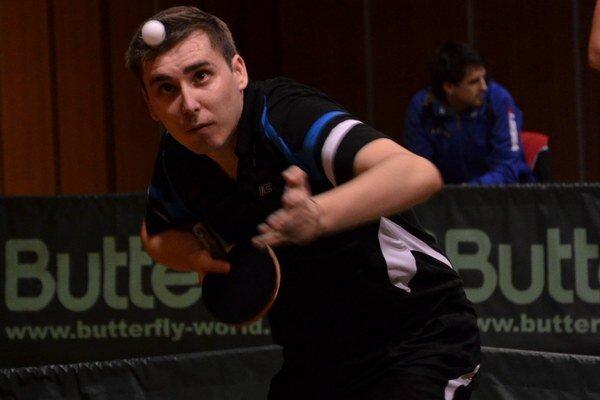 Nasadená deviatka. Na majstrovstvách Slovenska bol M. Gumáň nasadený ako deviatka.